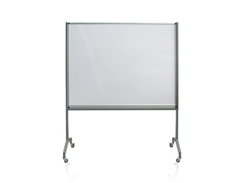 Single Sided Mobile Felt Pin Board on Castors